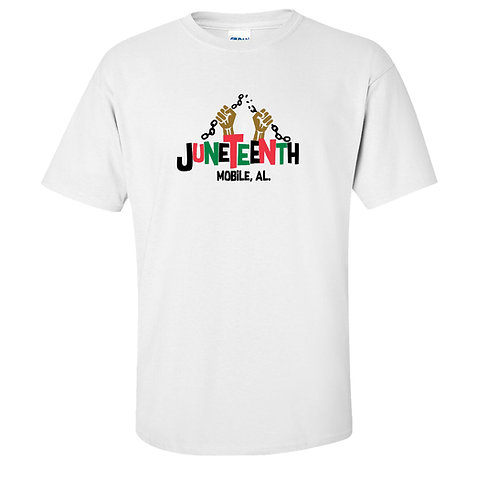 Juneteenth Black Lives Matter T-Shirt | Mobile Alabama