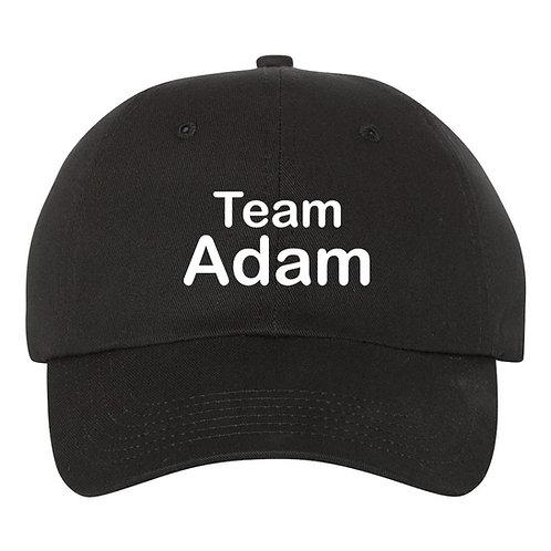 """ADAM LEVINE Baseball Hat / Cap """"Team Adam""""  (The Voice)"""