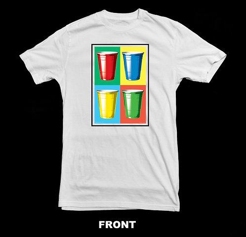 Red Solo Cup Beer T-Shirt - Pop Art Design