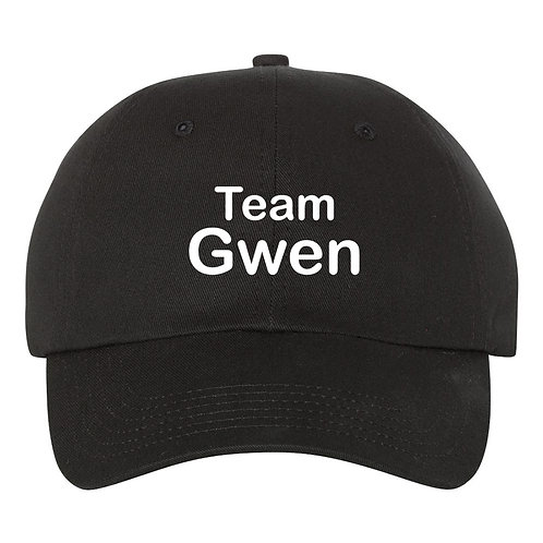 "GWEN STEFANI Baseball Hat / Cap ""Team Adam""  (The Voice)"