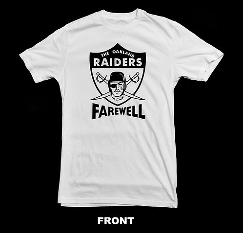 Oakland Raiders Final Season Farewell T-Shirt