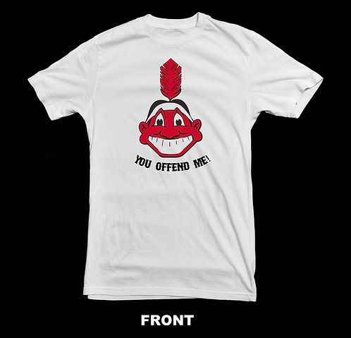 Cleveland Indians Vintage Chief Wahoo T-Shirt | You Offend Me