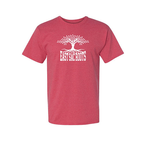 East Sac Roots Heather Red T-Shirt