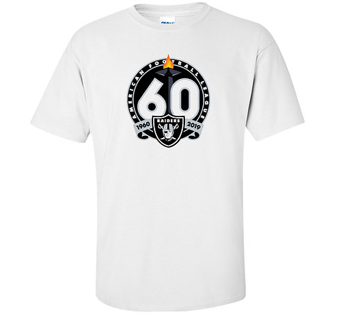 Oakland Raiders 60th Anniversary T-Shirt