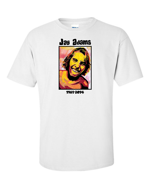 JAY ADAMS (SKATEBOARDER) MEMORIAL T-SHIRT