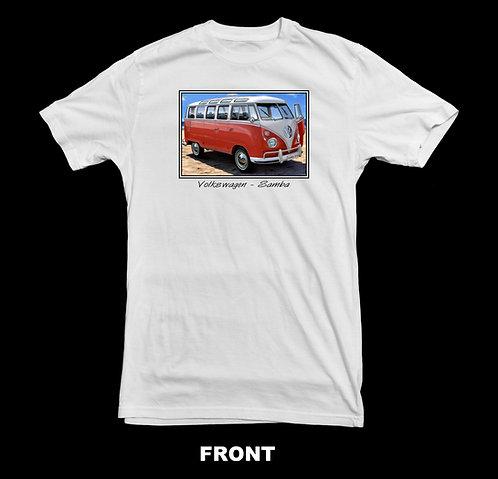 Volkswagen Vintage VW Micro Bus Samba T-Shirt