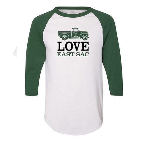 Love East Sac St. Patricks Day Jersey T-Shirt