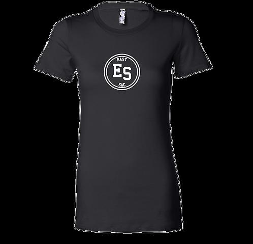 East Sac Monogram T-Shirt | Black Ladies T Shirt