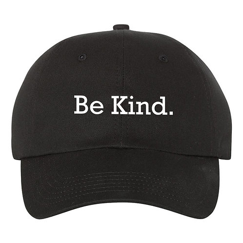 """Be Kind"" Baseball Hat / Cap With Flock Heat Transfer Vinyl"