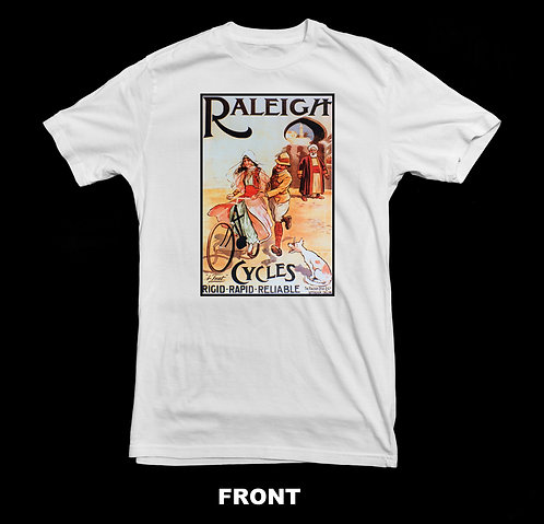 Raleigh Bicycle Vintage T-Shirt | Vintage Bicycle T Shirt