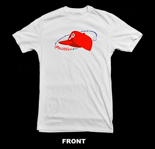 Philadelphia Phillies Vintage Baseball Logo T Shirt | 1950 - 1969 Logo