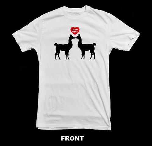 Llama T Shirt | Llama Llove T-Shirt