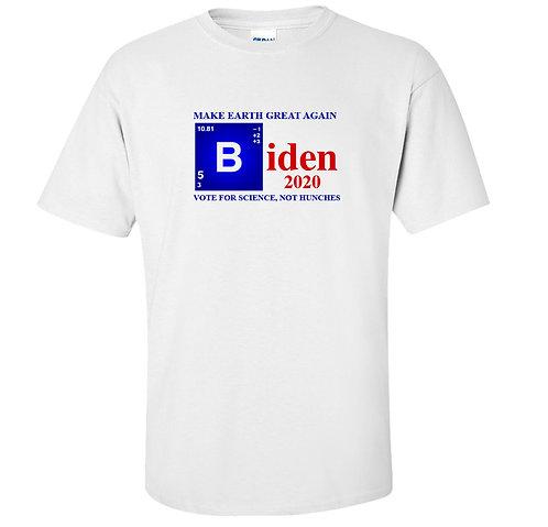 Biden 2020 Vote For Science T-Shirt