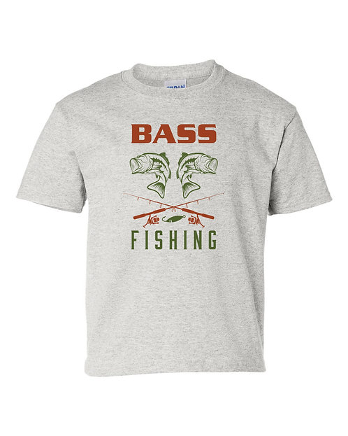 Bass Fishing Vintage Style T Shirt