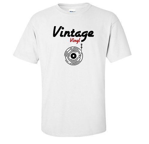Vintage Vinyl Turntable Record T Shirt
