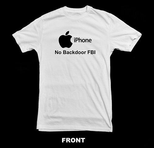 ANTI FBI - APPLE IPHONE PRIVACY T-SHIRT