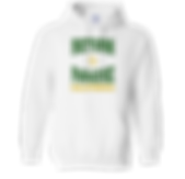 Return to Paradise White Hoodie Front.pn