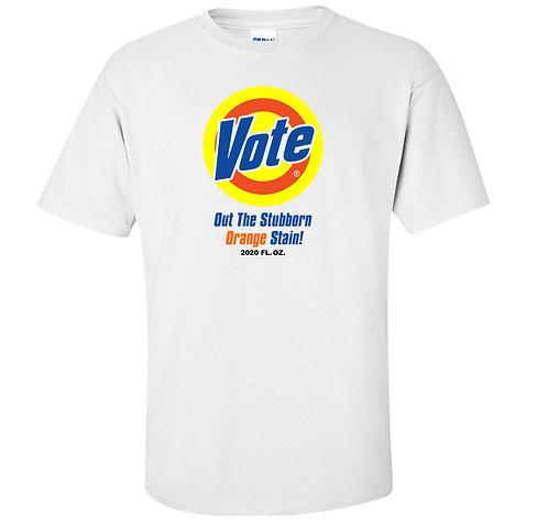 Vote Out Trump T-Shirt | Tide Laundry Detergent Parody