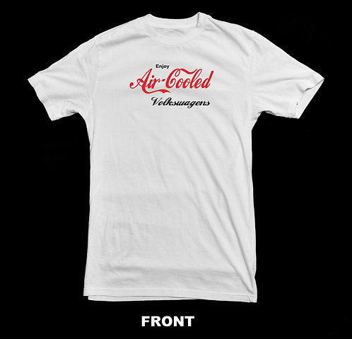 Volkswagen Vintage Air Cooled T Shirt | Coca Cola Inspired