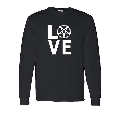Bicycle LOVE Long Sleeve T-Shirt | Bicycle T Shirts