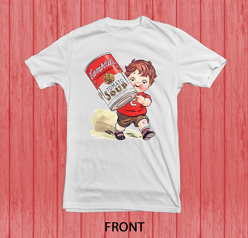 Campbell's Soup Vintage T Shirt | Campbell Soup Kid