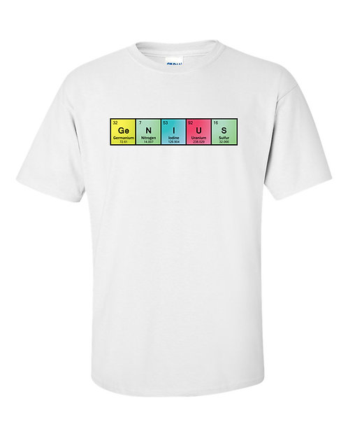 GENIUS Chemistry White T Shirt