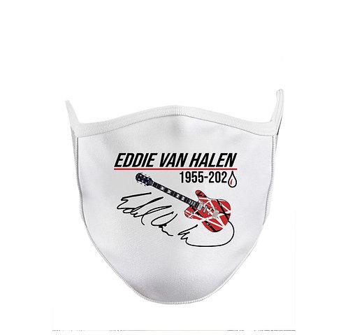 Eddie Van Halen Tribute Guitar Cloth Face Mask