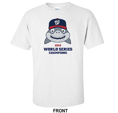 Washington Nationals 2019 World Series Baby Shark T Shirt