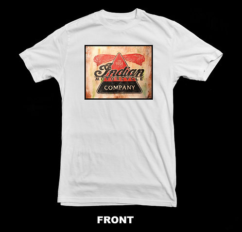Indian Motorcycle Company Vintage T Shirt