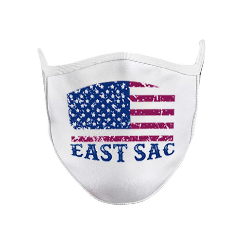 East Sac American Flag Face Mask Mouth Cover