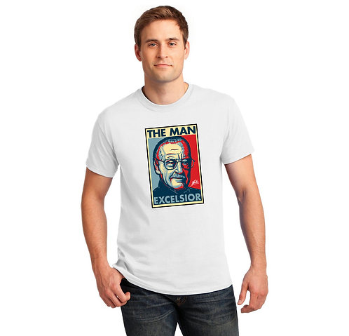 Stan Lee Tribute T Shirt | Stan Lee Excelsior | The Man