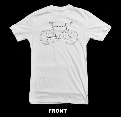 Bicycle Anatomy Artistic T-Shirt