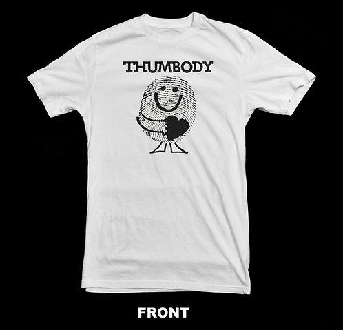 VINTAGE / NOSTALGIC THUMBODY LOGO T-SHIRT