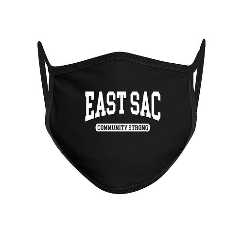 East Sacramento Community Strong Face Mask Mouth Cover