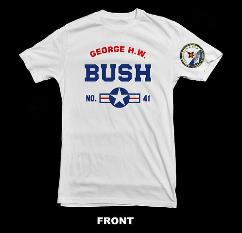 President George Bush Senior Tribute T-Shirt