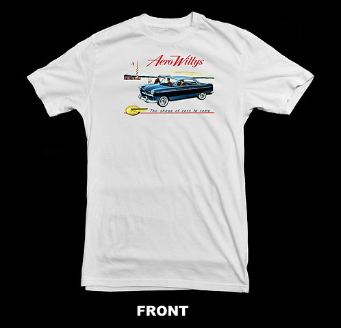 Willys Vintage Aero Lark Advertisement T-Shirt