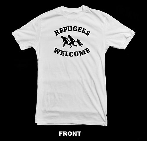PRO-IMMIGRATION / WELCOME REFUGEES T-SHIRT
