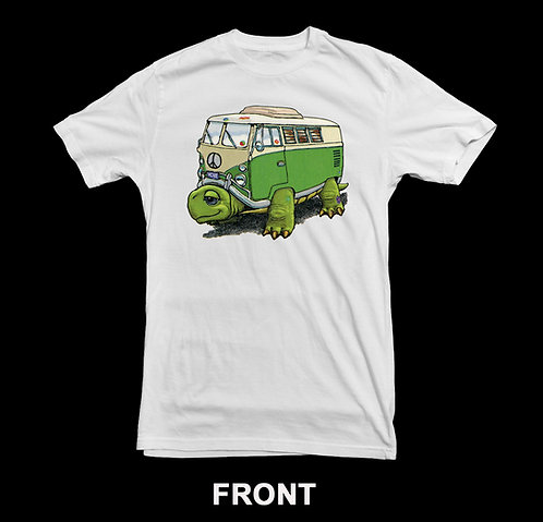 Volkswagen Vintage Bus T-Shirt | VW Bus | Funny Slow Turtle