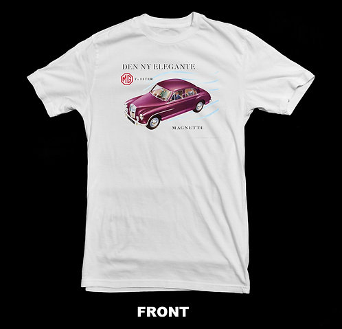MG Magnette Vintage Advertisement T-Shirt