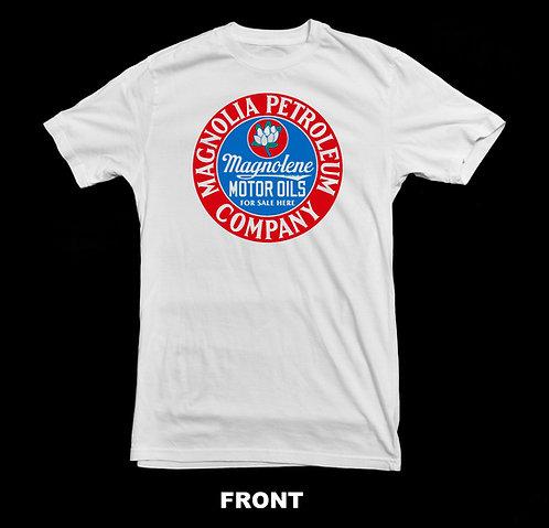 Magnolia Gas Company White T Shirt