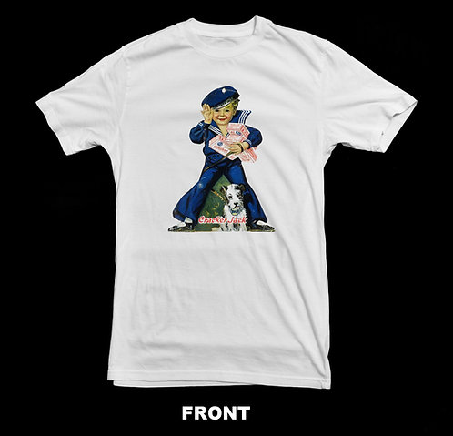 VINTAGE / NOSTALGIC SAILOR CRACKER JACK AND BINGO T-SHIRT