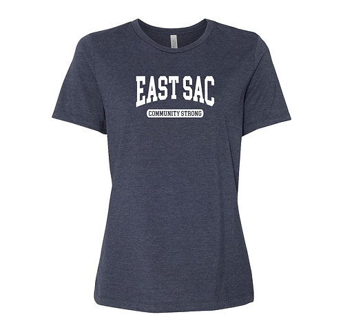 East Sac Ladies T-Shirt | East Sacramento Community Strong