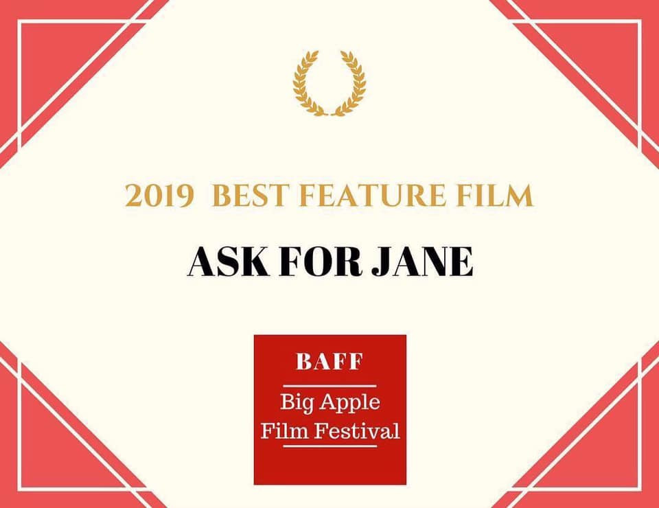 Ask For Jane wins Best Feature Film