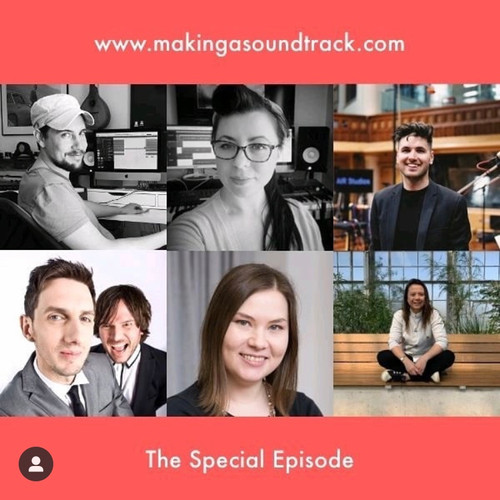 Two Twenty Two join Making A Soundtrack Podcast for a special episode