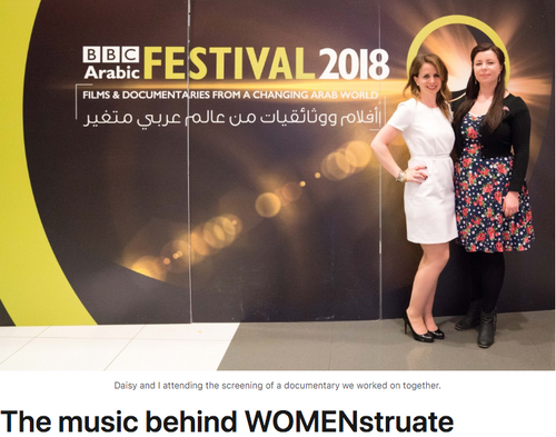Interview: The music behind WOMENstruate