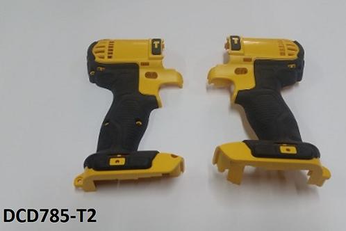 Carcaça p/ Parafusadeira Dewalt DCD785 Tipo 02