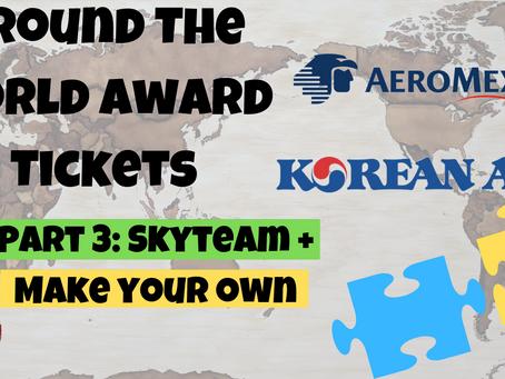 Around The World Award Ticket - SkyTeam Alliance