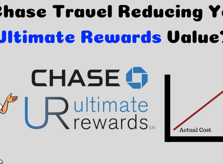 Is The Chase Travel Portal Reducing Your Ultimate Reward Point Value?