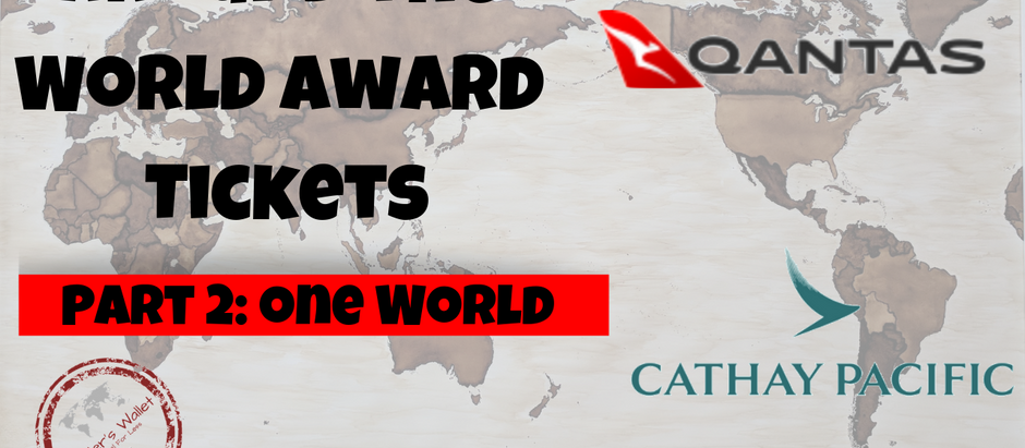 Around The World Award Tickets: One World