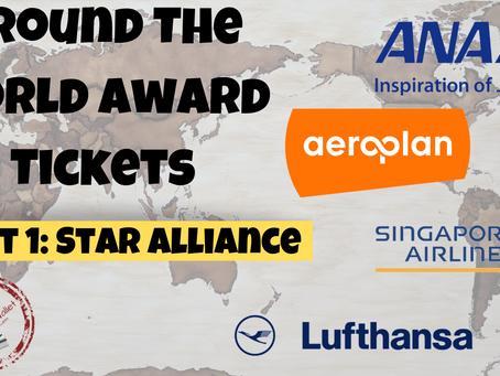 Around The World Award Tickets: Star Alliance